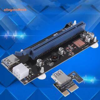 Thẻ Mở Rộng PCI-E Express 1x Đến 16x 6Pin USB3.0 Cáp, Cho Thợ Mỏ BTC thumbnail