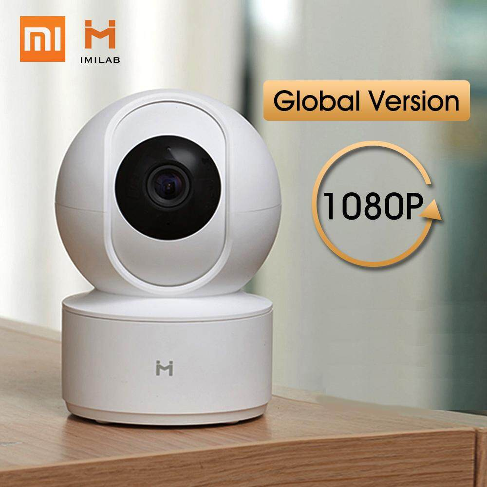 [2019 NEW Global Version] Xiaomi Mijia IMILAB CCTV Camera 360 Degree 1080P Wireless Home Security Upgraded Night Vision HD Baby Monitor IP Camera [USB Version]