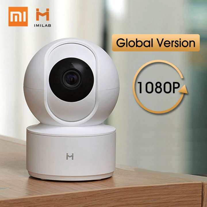 [NEW Global Version] Xiaomi Mijia IMILAB CCTV Camera 360 Degree 1080P Wireless Home Security Upgraded Night Vision HD Baby Monitor IP Camera [USB Version]