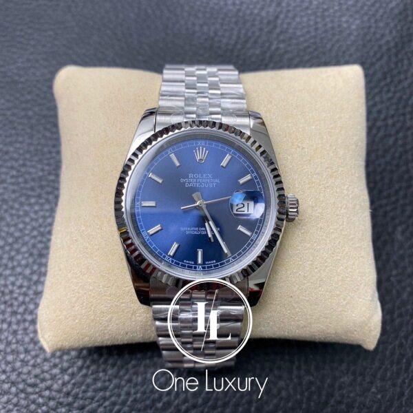 [ONE LUXURY] DATEJUST 36MM BLUE DIAL ON JUBILEE BRACELET 116234 Malaysia