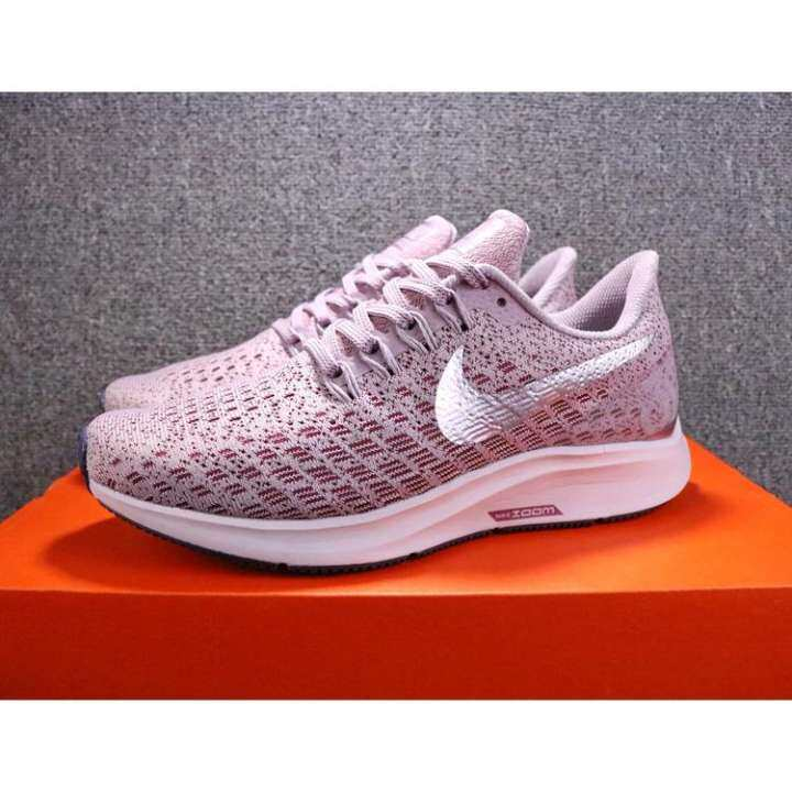 Nike_AIR_Zoom Structure 35 Womens Running Shoes Purple Breathable Non-slip Lightweight Sweat-absorbent Fashion Shoes