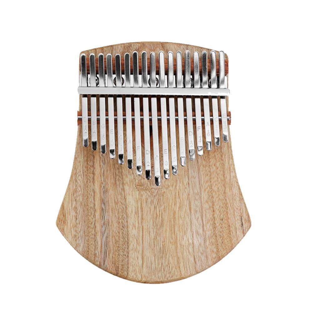 Đàn Kalimba 17 Phím, Nhạc Cụ Cầm Tay Bằng Gỗ Kalimba, Gỗ Gụ Rắn Chắc Châu Phi
