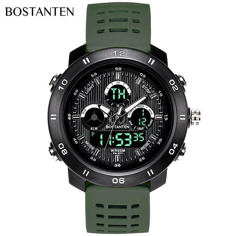 BOSTANTEN Mens Watch On Sale Waterproof Watch For Men BOSTANTEN Original Watches Latest Digital Sport Wristwatch-2232K Malaysia