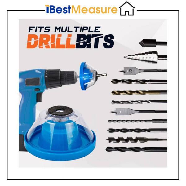 iBestMeasure Hammer Drill Dust Collector Power Tool Accessories Impact Drill Ash Bowl Must Have Accessory Power Tool Parts Dustproof Device