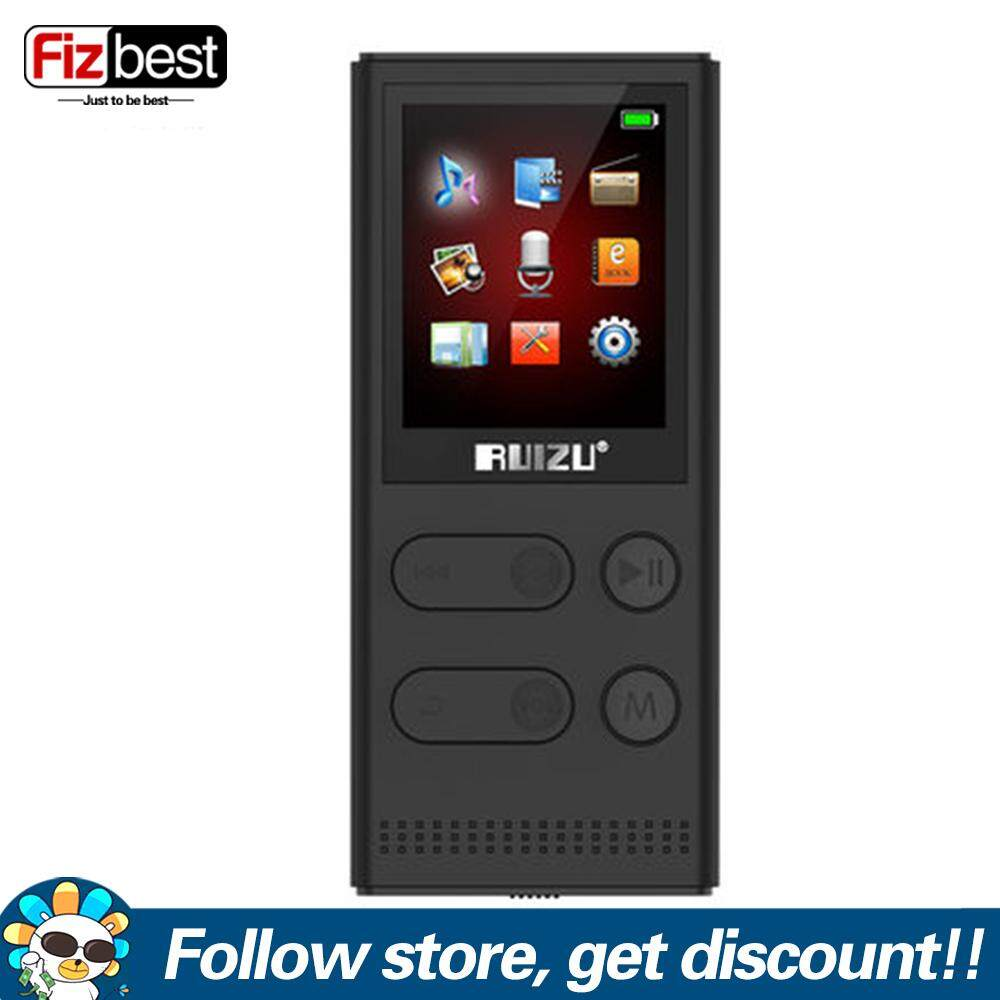 Original RUIZU X22 8G MP3 Player With High Quality Portable Lossless Voice Recorder FM Radio Music Player Support 128G TF Card