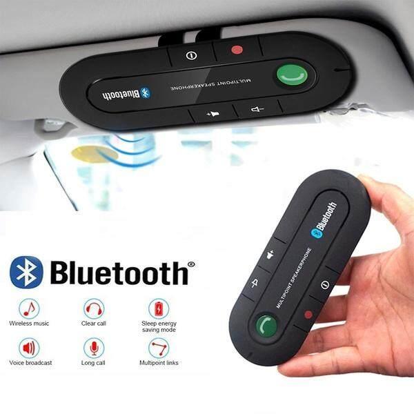 Phụ kiện loa bluetooth đàm thoại rảnh tay trên xe hơi phiên bản 4.1, kích thước 130x49x15mm - INTL