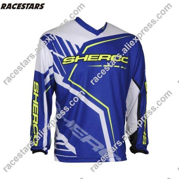 Mua Enduro Jeresy 2020 Áo Thi Đấu Đạp Xe Đạp Đua Xe Mô Tô Địa Hình Xe Đạp Địa Hình MX Off Road Dài, Xe Đạp T-Shirt Áo Nỉ Xuống Dốc BMX