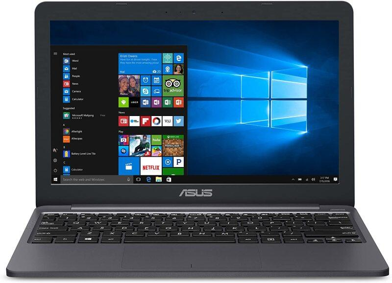 """ASUS L203MA-DS04 VivoBook L203MA Laptop, 11.6"""" HD Display, Intel Celeron Dual Core CPU, 4GB RAM, 64GB Storage, USB-C, Windows 10 Home In S Mode, Up To 10 Hours Battery Life, One Year Of Microsoft 365 Malaysia"""