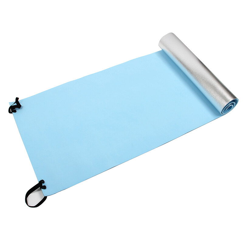 Bảng giá Extra Thick Camping Picnic Pad Yoga Mat Sleeping Outdoor Mattress Fitness Mat (Blue, Silver)