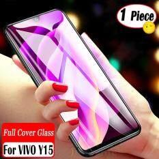 Jingsanc Cho VIVO Y15 Full Cover Trong Suốt Bảo Vệ Màn Hình Kính Cường Lực Bảo Vệ
