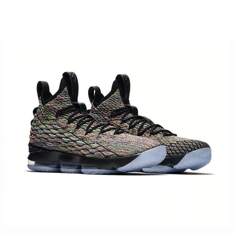 premium selection 2d183 7b292 Nike Lebron 15 Four Horsemen Men's High-Top Basketball Shoes Comfortable,  breathable, shockproof, non-slip sports shoes 40-45