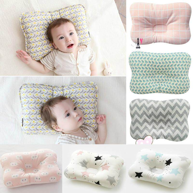 For Baby Infant Newborn Pillow Flat Head Sleeping Support Cushion Prevent Soft