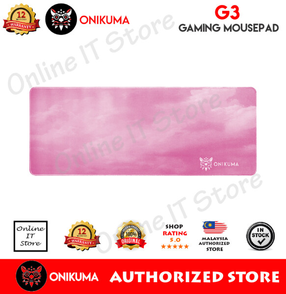ONIKUMA G3 31.5 Inch Large Pink Mouse Pad Gaming Mouse Pad Malaysia