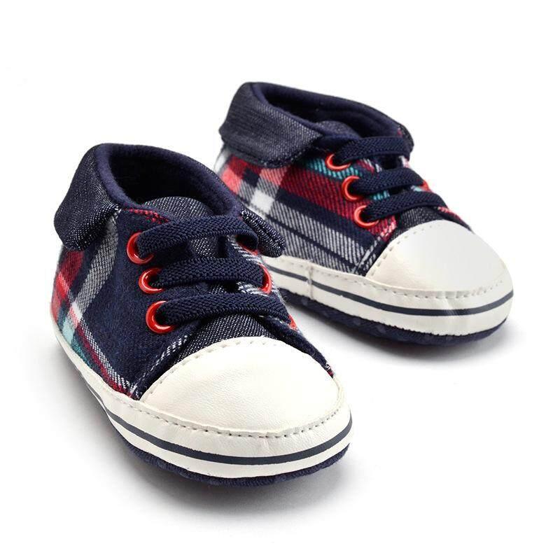 JudyBest Thời Trang Cho Bé Trai Bé Gái Giày Chống trượt Giày Cotton Buộc Prewalker Cho Bé Tập Đi Giày Crazy Cat Giày