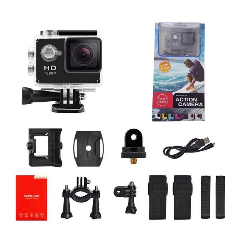 Camera Thể Thao Tròn HD 1080P Ngoài Trời Đi Xe Máy Ảnh Puqing 2.0 Inch Lái Xe Đầu Ghi Có Giá Tốt