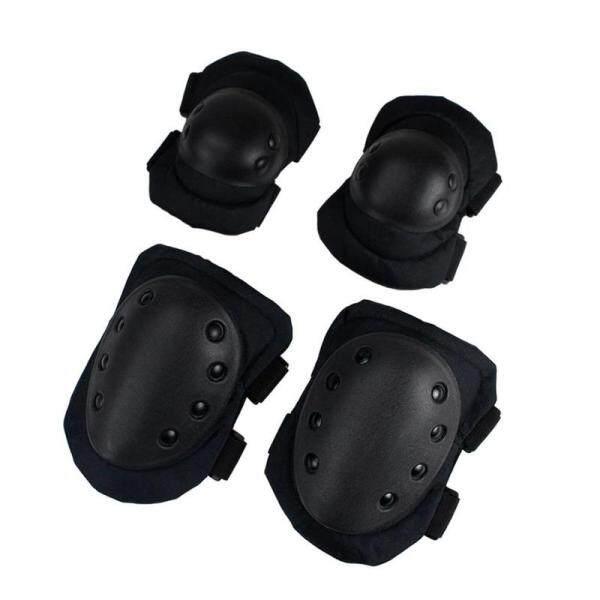 4 cái/lốc người lớn chiến thuật bảo vệ pad thiết bị chuyên nghiệp thiết quân sự thể thao bảo vệ đầu gối khuỷu tay & đầu gối Pads