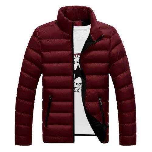 แฟชั่นเสื้อใหม่ชายแนวโน้มนักเรียนเสื้อโค๊ตแนวสปอร์ตผู้ชายแจ็คเก็ตผ้าฝ้ายแจ็คเก็ต By Gogolife.