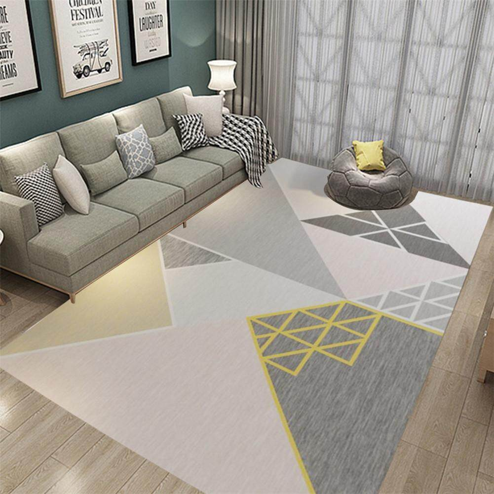 Nordic Geometric Minimalist Anti-slip Mat Carpet for Home Bedroom Living Room