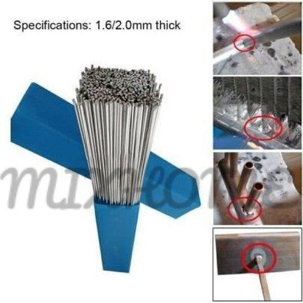 [Malaysia Ready Stock Welding Wire] Low Temperature Aluminum Welding Rod Electrodes Welding Sticks Hot Sale Flux Cored 2.0MM Al-Mg Soldering Rod No Need Solder Powder【10PCS/20PCS/50PCS (Optional) 】