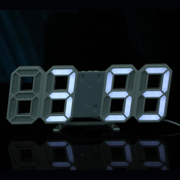 Đồng Hồ Treo Tường Kỹ Thuật Số LED 3D Hiển Thị Đèn Ngủ Ngày Giờ C Bàn Máy Tính Để Bàn Đồng Hồ Đồng Hồ Báo Thức Đồng Hồ Báo Thức Thông Minh Cho Phòng Khách bán chạy