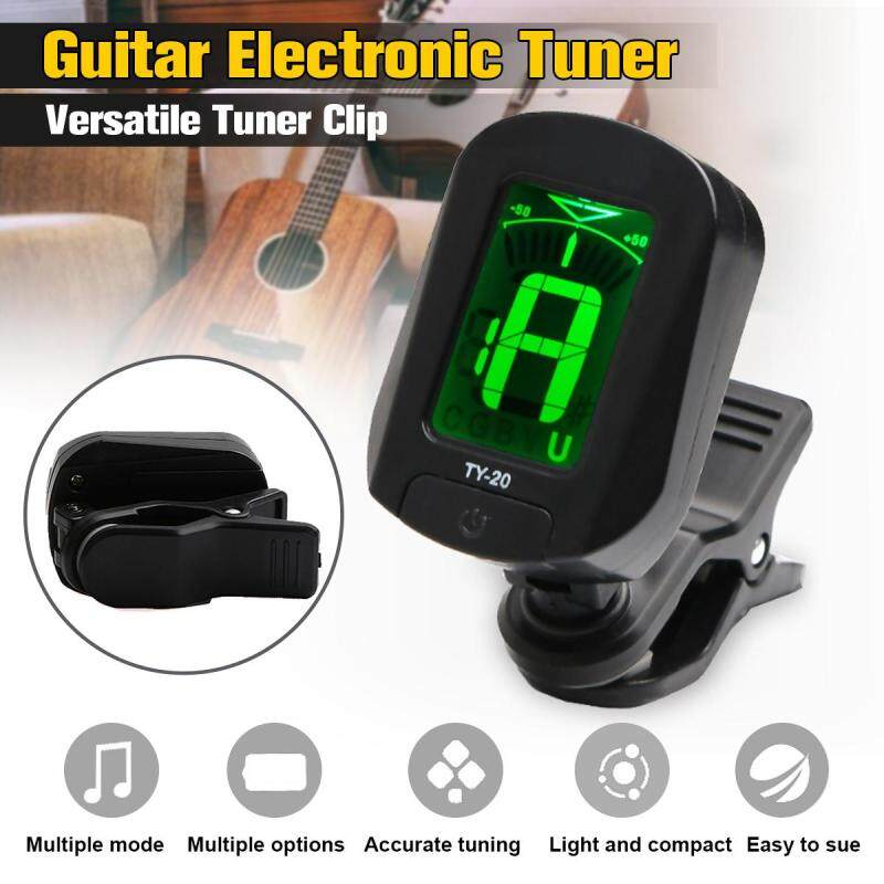 Guitar Electronic Tuner Violin Ukulele Universal Guitar Versatile Tuner Clip Malaysia