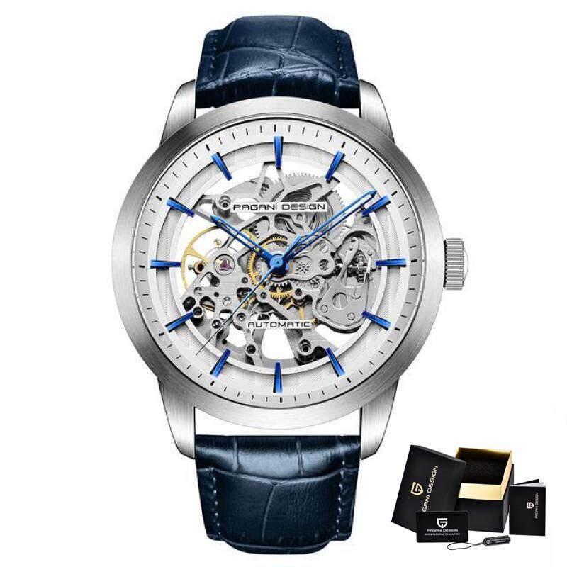 2019 PAGANI DESIGN Business Man Watch Luxury Skeleton Hollow Leather Men Wristwatch New Mechanical Male Clock Relogio Masculino Jam Tangan Lelaki/Man Malaysia