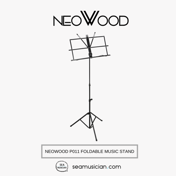 NEOWOOD P011 FOLDABLE MUSIC STAND (FOLDING MUSIC STAND/ MUSIC NOTE STAND/ P-011) Malaysia