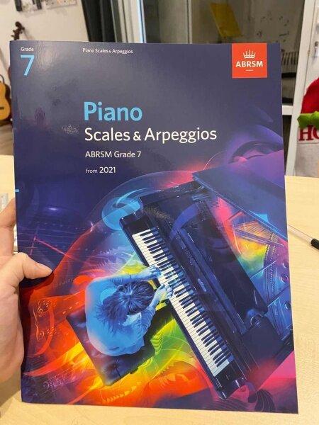Piano Scales & Arpeggios Grade 7 Malaysia