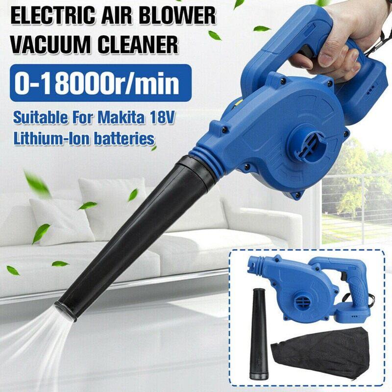 【CheapAndOn Sale】Zioigh New 800W Multi-Chức Năng Máy Thổi Khí Điện Lithium Có Thể Sạc Lại Loại Bỏ Bụi Cho Máy Tính Làm Sạch Bụi Đồ Nội Thất Và Xe Apirator Yard Vườn Lá Bụi Công Cụ