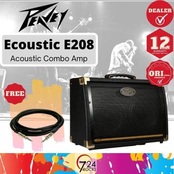 724 ROCKS Peavey Ecoustic E208 30-watt 2x8 Acoustic Guitar Amp / Amplifier Malaysia