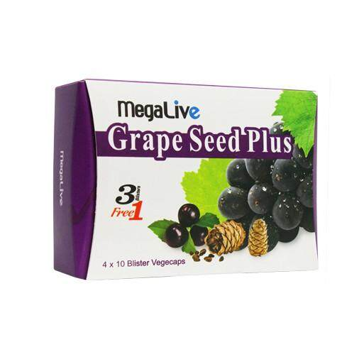 Megalive Grape Seed Plus 40'S