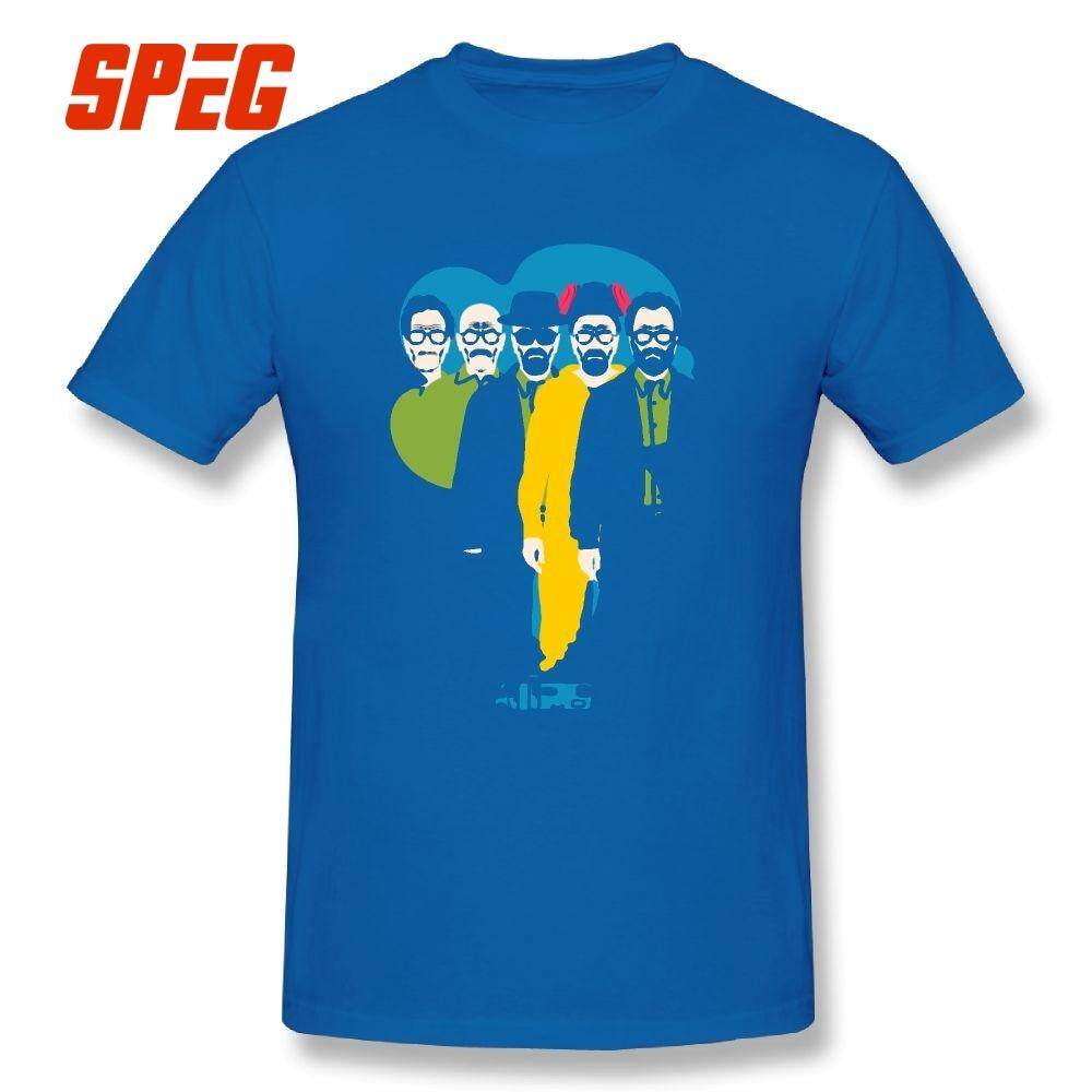 6ac410a318d7 Breaking Bad From Mr Chips to Scarface Tee Shirts Awesome Crew Neck Male  Short Sleeves Leisure