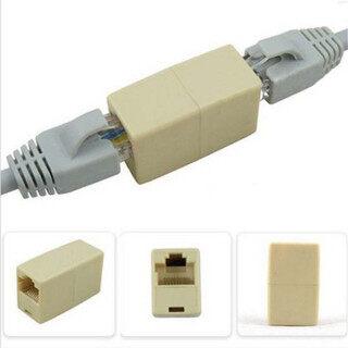 Bộ Chuyển Đổi RJ45 Mạng Cáp, Bộ Mở Rộng Kết Nối Ethernet 5 Cái Một Joiner Coupler , Lan Cat5 thumbnail