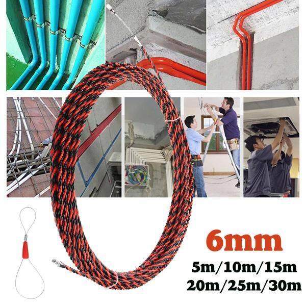 5m/10m/15m/20m/25m/30m Fish Tape Cable Push Puller Rodder POM Wire