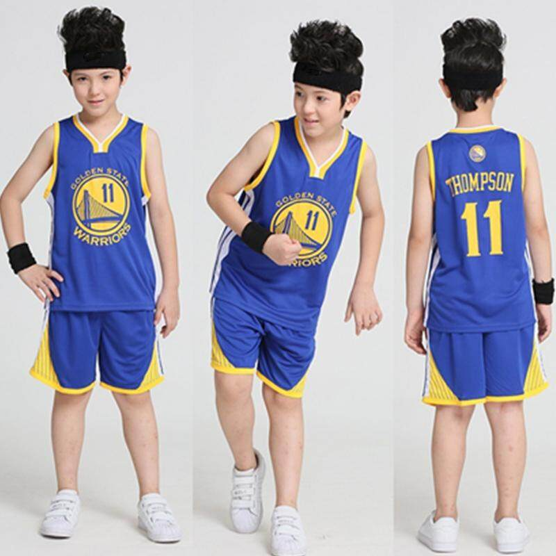 2c136caf1 Kids Basketball Jerseys Sets Uniforms Kits Child Sports Clothes Breathable Youth  Basketball Jersey Children Outdoor Sportswear