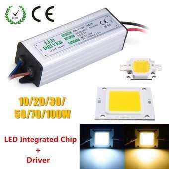 【การจัดส่ง + แฟลช Deal】 10 W 20 W 30 W 50 W 100 W สีขาวกันน้ำสูงหม้อแปลงไฟ LED ชิปเอลอีดี SMD หลอดไฟ-