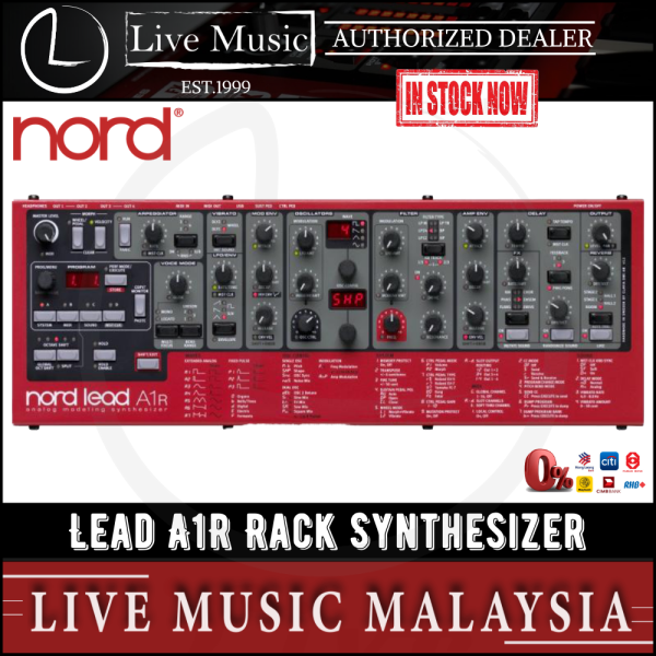 Nord Lead A1R Rack Synthesizer Malaysia