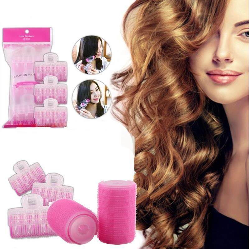 3PCS Magic Hair Styling Curlers Rollers Large Hairdressing DIY Tool Former Clip