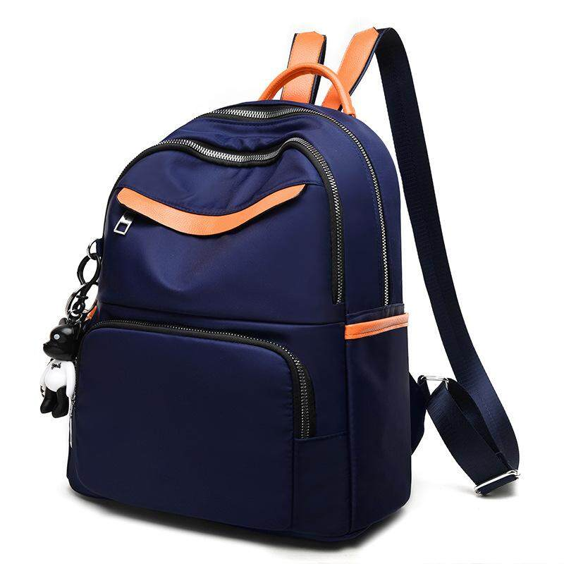 Zhenli Backpack Women's Solid Oxford Backpack Fashion Sports Handbag