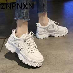 ZNPNXN Thời trang Giày thể thao Hàn Quốc cho Nữ Sinh viên Giày chạy bộ
