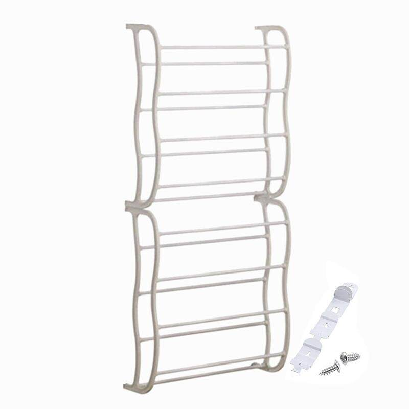 Shoe Cabinet Door Hanging Shoe Rack Hook Shelf Rack Holder Storage Organizer Cabinet