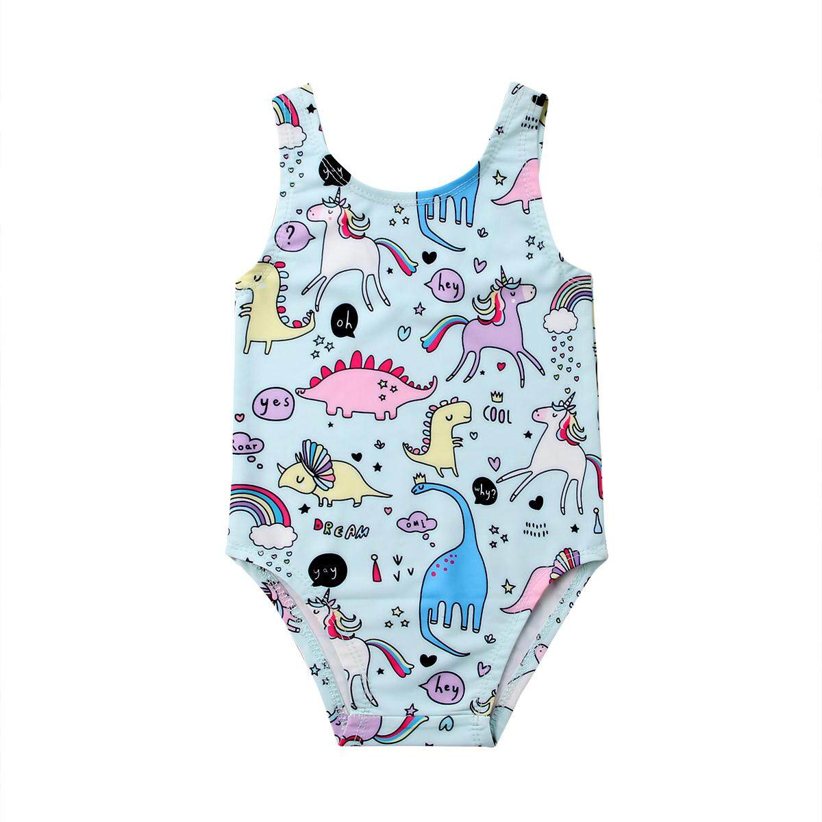 5eb12184e4 Toddler Kids Baby Girl Animals Swimwear Swimsuit Bikini Bathing Suit  Swimming Beachwear