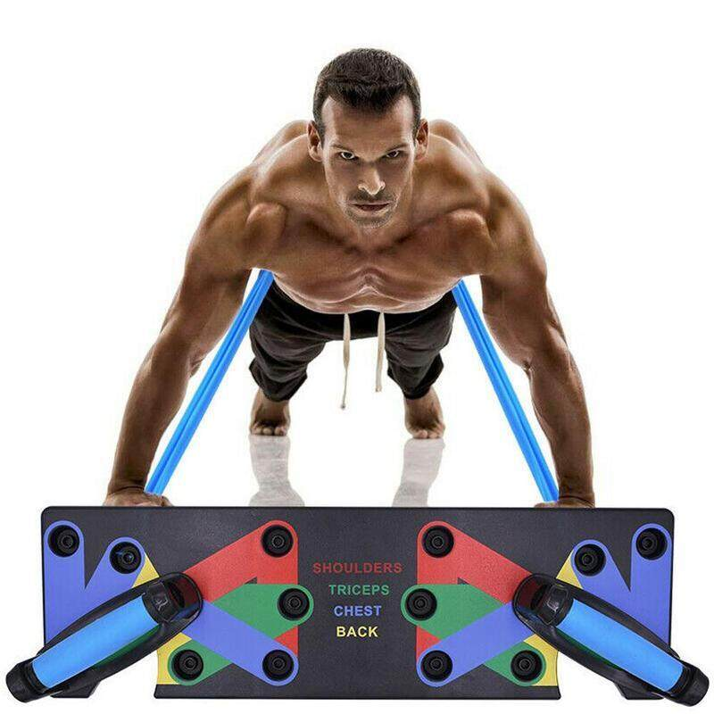 Push-up support male fitness equipment home practice arm type push-up muscle muscle board multi-function chest H3I5