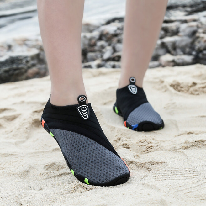Giày Đi Biển Cho Nam Và Nữ, Giày Bơi Lội Ngoài Trời Với Ống Thở Lội Nước Chống Trượt Nhanh Khô Cho Cặp Đôi giá rẻ