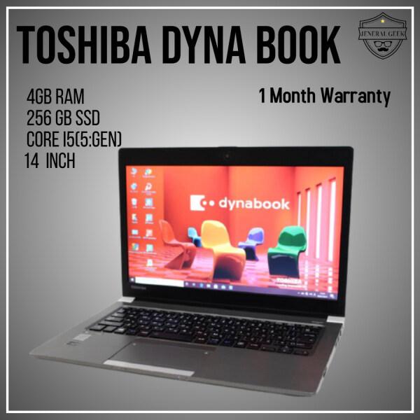 (Look Like new) 🔥 TOSHIBA laptop DYNABOOK R63P Core i5 5th Gen 4GB Ram 256 GB SSD Malaysia