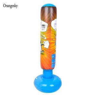Orangesky Quà Tặng Bơm Hơi Thể Hình 1.25M, Bao Cát Hình Trụ Đấm Bốc Earthbag Đồ Chơi Giải Nén Vui Nhộn thumbnail