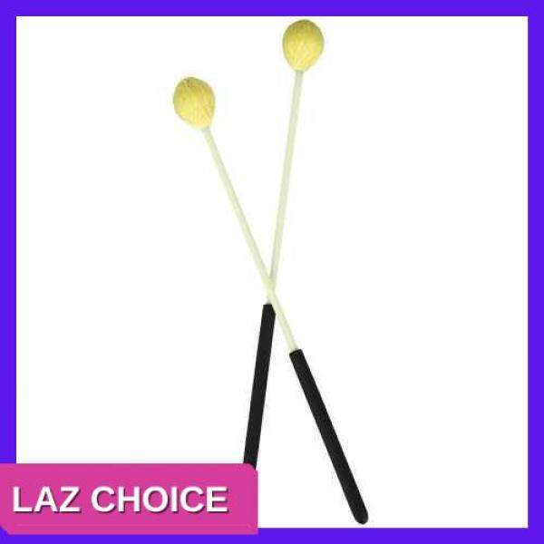 LAZ CHOICE Primary Marimba Stick Mallets Xylophone Glockensplel Mallet with Fiberglass Handle Percussion Instrument Accessories for Professionals Amateurs 1 Pair Blue (Yellow) Malaysia