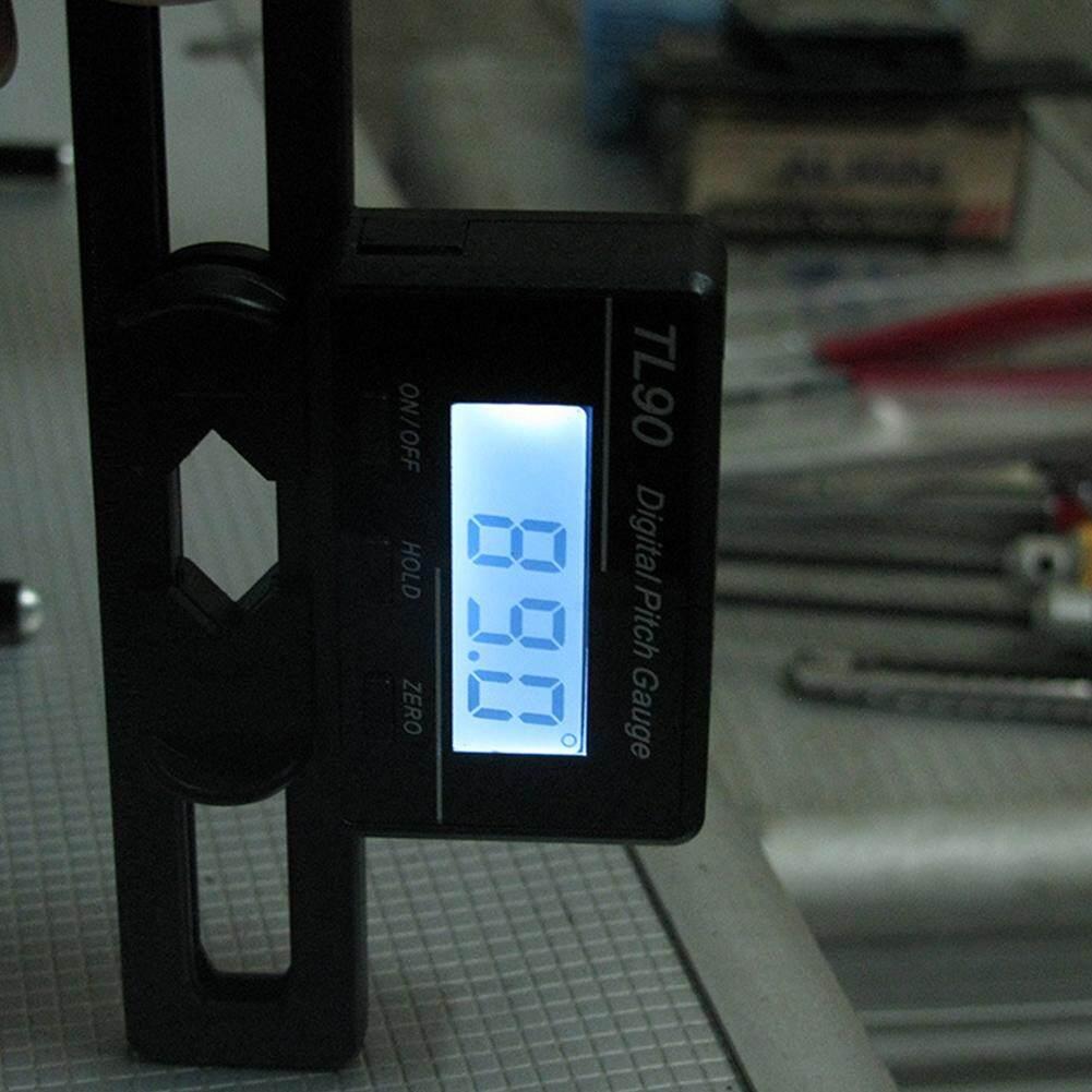 Dụng cụ MÀN HÌNH LCD có Đèn Nền Ngoài Trời Góc Đo Kỹ Thuật Số Dùng Pin Sân Ga