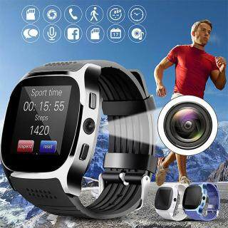 Đồng Hồ Thông Minh Bluetooth T8 Có Camera, Hỗ Trợ Thẻ TF SIM Đồng Hồ Thông Minh Thể Thao Đếm Bước Chân Cho Nam Nữ Cho Điện Thoại Android thumbnail