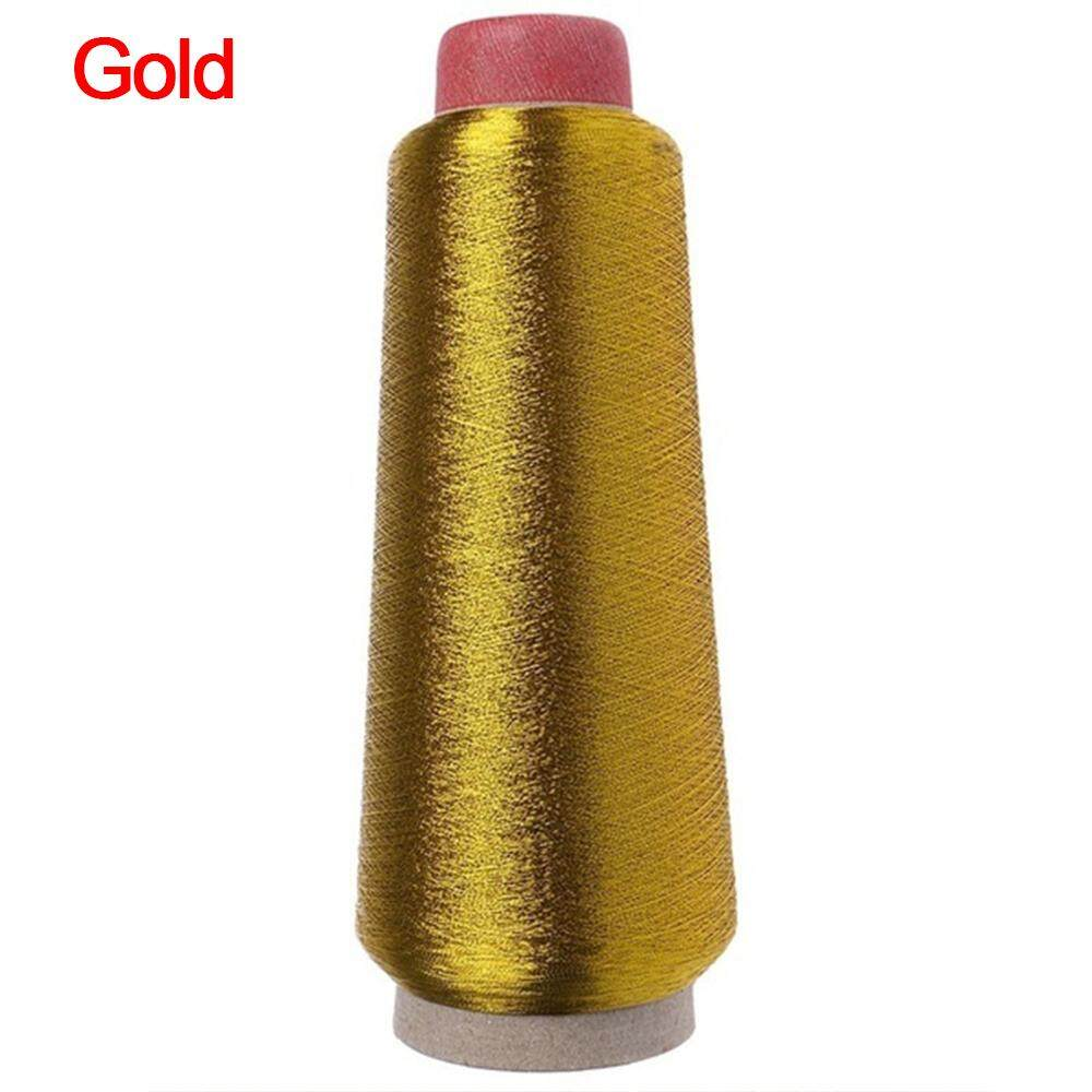 Gold/Silver Embroidery Threads Computer Cross-stitch Thread 3000M Sewing Thread Line Textile Metallic Yarn Woven Line